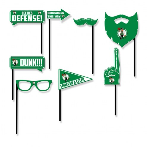 Boston Celtics Party Props Selfie Kit