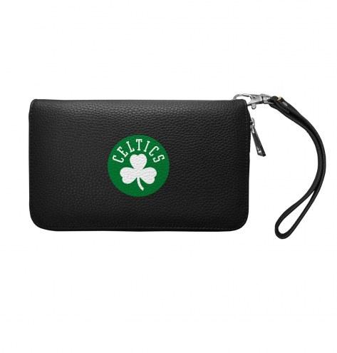 Boston Celtics Pebble Organizer Wallet