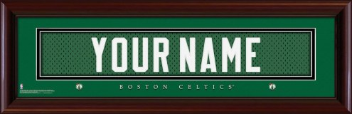 Boston Celtics Personalized Stitched Jersey Print