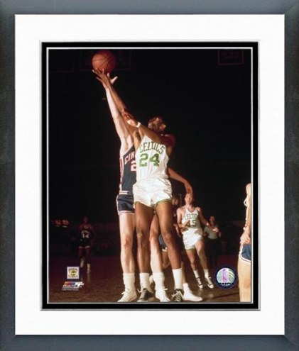 Boston Celtics Sam Jones Action Framed Photo