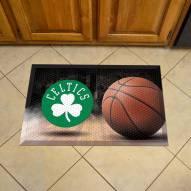 Boston Celtics Scraper Door Mat