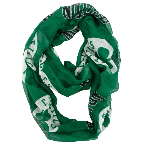 Boston Celtics Sheer Infinity Scarf