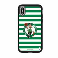 Boston Celtics Speck iPhone X Presidio Stripes Case