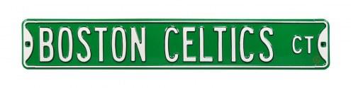 Boston Celtics Street Sign