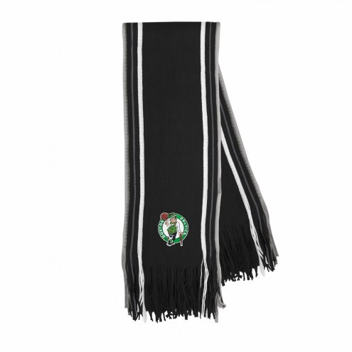 Boston Celtics Stripe Fringe Scarf