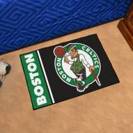 Boston Celtics Uniform Inspired Starter Rug