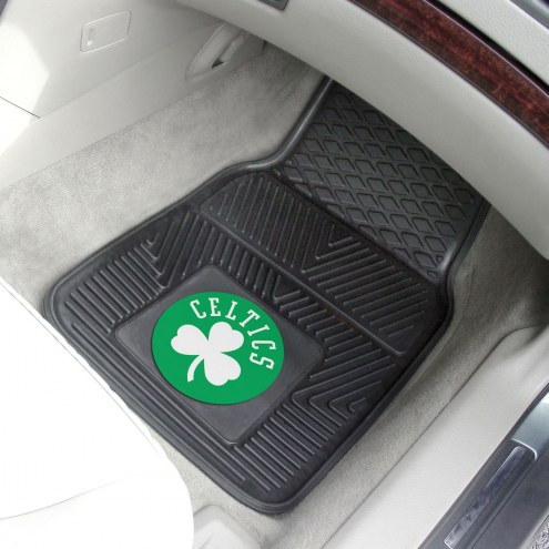 Boston Celtics Vinyl 2-Piece Car Floor Mats