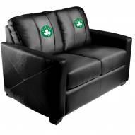 Boston Celtics XZipit Silver Loveseat with Secondary Logo