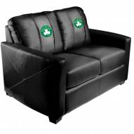 Boston Celtics XZipit Silver Loveseat with Secondary Logo