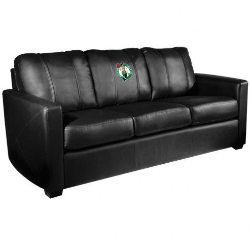 Boston Celtics XZipit Silver Sofa