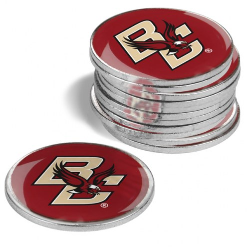 Boston College Eagles 12-Pack Golf Ball Markers