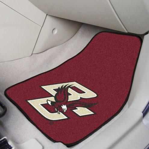 Boston College Eagles 2-Piece Carpet Car Mats