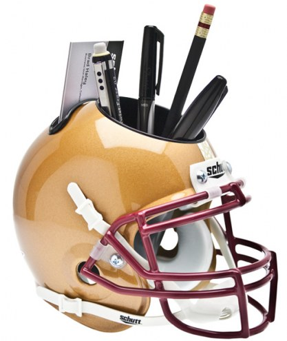 Boston College Eagles Alternate Schutt Football Helmet Desk Caddy