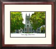 Boston College Eagles Alumnus Framed Lithograph
