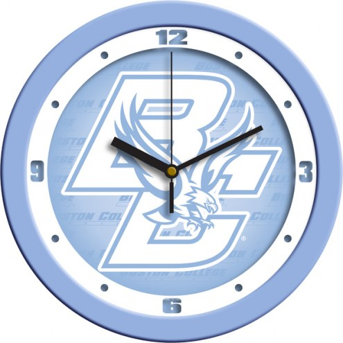 Boston College Eagles Baby Blue Wall Clock