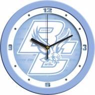 Boston College Eagles Baby Blue Wall Clock