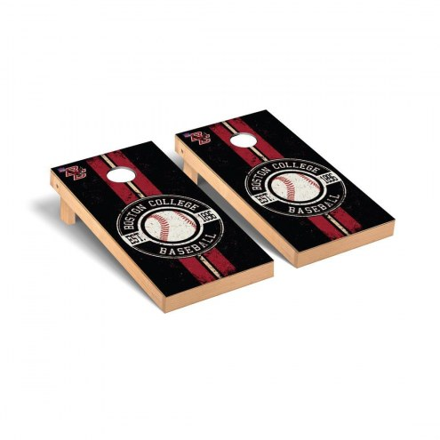 Boston College Eagles Baseball Vintage Cornhole Game Set