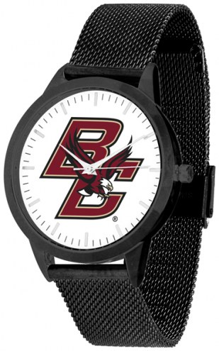 Boston College Eagles Black Mesh Statement Watch