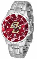 Boston College Eagles Competitor Steel AnoChrome Color Bezel Men's Watch