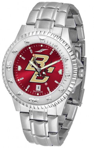 Boston College Eagles Competitor Steel AnoChrome Men's Watch