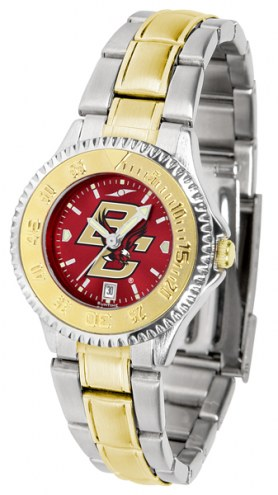 Boston College Eagles Competitor Two-Tone AnoChrome Women's Watch