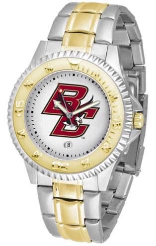 Boston College Eagles Competitor Two-Tone Men's Watch