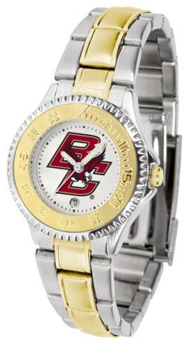 Boston College Eagles Competitor Two-Tone Women's Watch