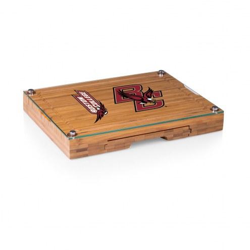 Boston College Eagles Concerto Bamboo Cutting Board
