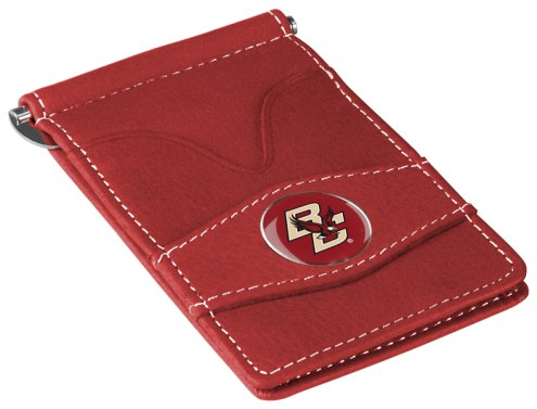 Boston College Eagles Garnet Player's Wallet
