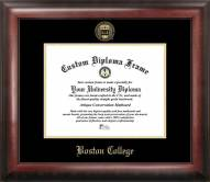 Boston College Eagles Gold Embossed Diploma Frame