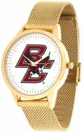 Boston College Eagles Gold Mesh Statement Watch