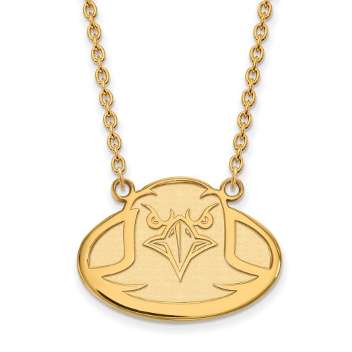 Boston College Eagles Sterling Silver Gold Plated Large Pendant Necklace