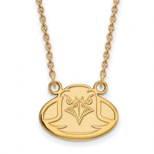 Boston College Eagles Sterling Silver Gold Plated Small Pendant Necklace