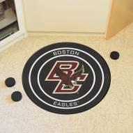 Boston College Eagles Hockey Puck Mat