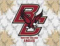 Boston College Eagles Logo Canvas Print