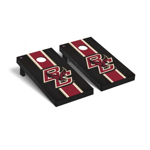 Boston College Eagles Onyx Stained Cornhole Game Set