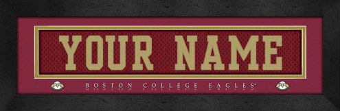 Boston College Eagles Personalized Stitched Jersey Print