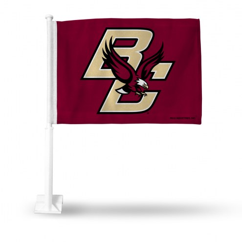 Boston College Eagles Car Flag