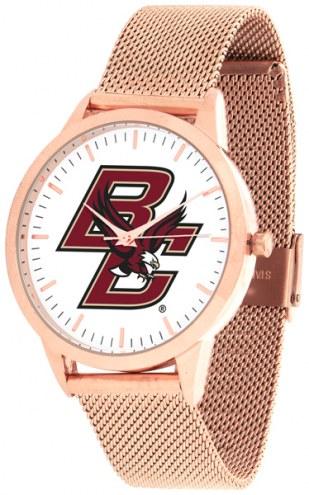 Boston College Eagles Rose Mesh Statement Watch