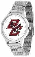 Boston College Eagles Silver Mesh Statement Watch