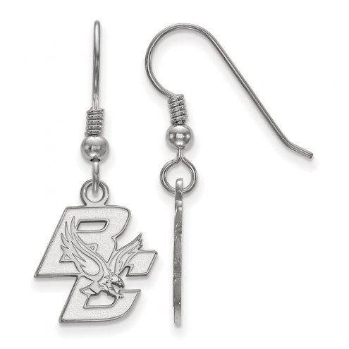 Boston College Eagles Sterling Silver Small Dangle Earrings