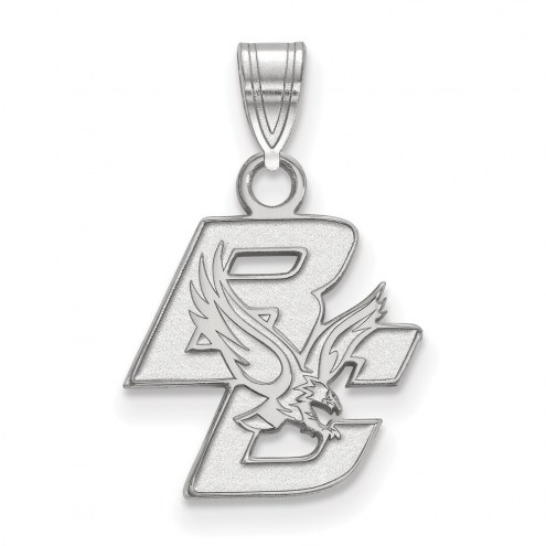 Boston College Eagles Sterling Silver Small Pendant