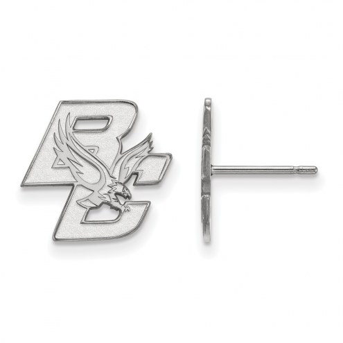 Boston College Eagles Sterling Silver Small Post Earrings
