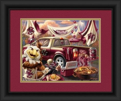 Boston College Eagles Tailgate Framed Print