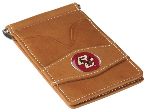 Boston College Eagles Tan Player's Wallet
