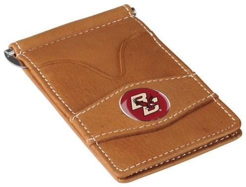 Boston College Eagles Tan Player's Wallet