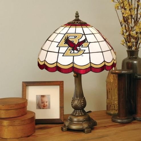 Boston College Eagles Tiffany Table Lamp