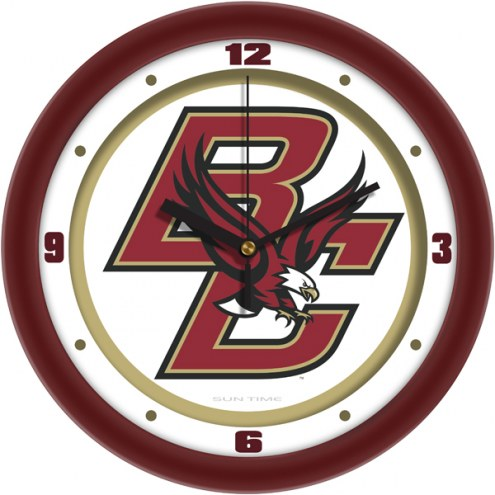 Boston College Eagles Traditional Wall Clock