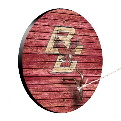 Boston College Eagles Weathered Design Hook & Ring Game