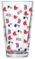 Boston Red Sox 16 oz. All Over Print Pint Glass